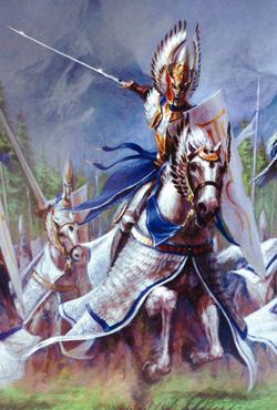 Warhammer Silver Helm