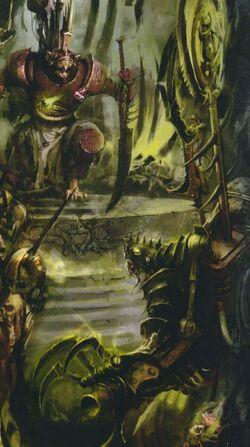 Warhammer Skaven Ikit Claw meets Queek Headtaker