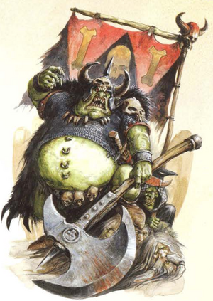 Warhammer Grom the Pauch