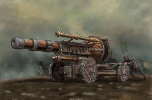 Warp-Lightning Cannon
