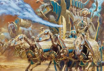 Warhammer Second Battle of Khemri