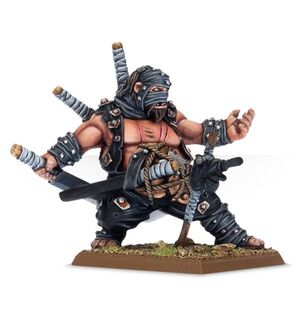 Ninja Maneater Ogre Kingdoms 6th Edition Miniature