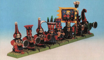Chaos Dwarf Warriors Blunderbuss Metal 4th Edition Miniatures