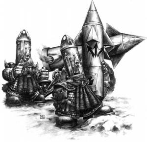 Warhammer Deathshrieker Rocket Launcher