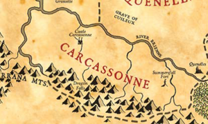 Carcassonne map