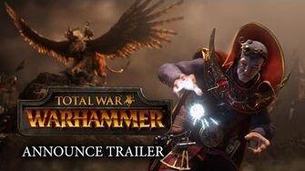 Total War WARHAMMER – Announcement Cinematic Trailer