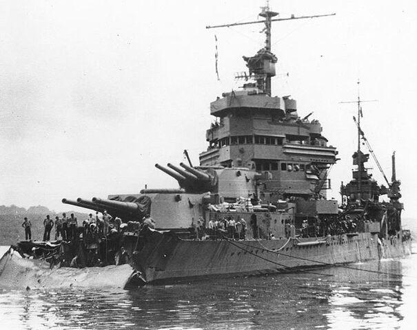 File:USS Minneapolis after Tassafaronga.jpg