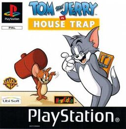 Tom And Jerry in House Trap PSX front