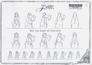 Fearless four 1997 character design 03