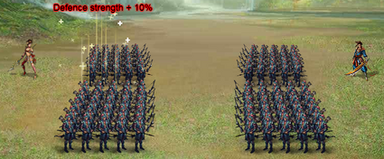 Artefact defence strength plus 10