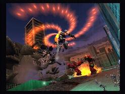 Robo xplode overhead