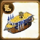Lightning Frigate Ship Blueprint