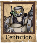 Centurion Cannoneer Poster