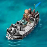 Armored Giant Shied Ship