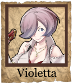 Violetta Corsair Poster