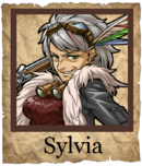 Sylvia Musketeer Poster
