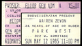 1985-05-12-Warren-Zevon-Chicago-Ticket-Stub.png