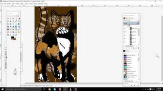 Tortoiseshell And White Mottled Cat Tutorial