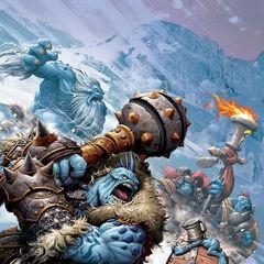 The Rol'Yoth fending for their frigid land...