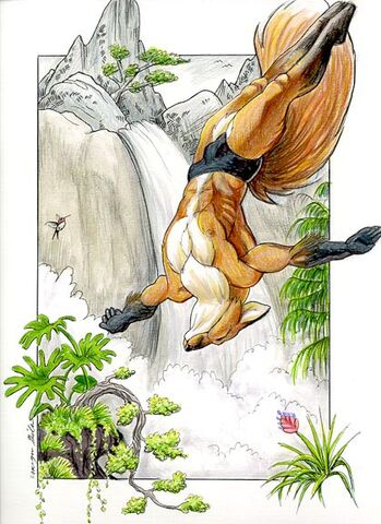 File:Werefox takes the Plunge- Diana Cervantes.jpg