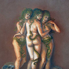 Three sisters, like the daughters of Phorcys and Ceto...