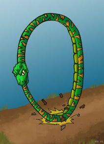 The hoop snake-1-