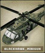 Vehicles Blackhawk Minigun