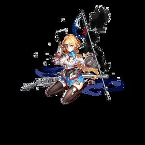 Jeanne d'Arc damaged