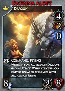 Card lg set10 katrina dragonrider r