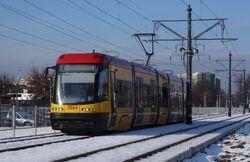 Trakt Nadwiślański (tramwaj 2).JPG