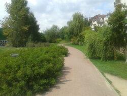 Ścieżka rowerowa SS (Ursynów, by BartekBD).jpg