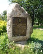 Park Leśnika kamien