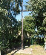 Jutrzenki, Łopuszańska (krzyż przydrożny)