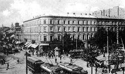 Kamienica Lothego 1914