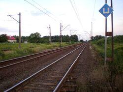 Linia kolejowa nr 8 (przejazd kolejowy na ul. Karnawał
