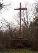Trakt Lubelski, Chodzieska (krzyż przydrożny)