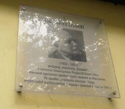 Aleja Lisieckiego (tablica MSI)