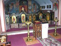 Kaplica (dolna cerkiew) w cerkwi prawosławnej św. Jana Klimaka na Woli.JPG