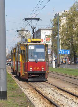 Aleja Jana Pawła II (tramwaj 71)