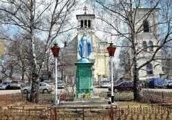 Figura Matki Boskiej Nieustającej Pomocy kościół św. Katarzyny.JPG