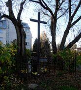 Nowoursynowska, Pawlaczyka (krzyż przydrożny)