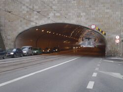 Tunel trasy W-Z