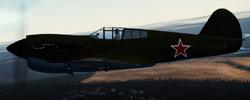 Soviet P-40E-1