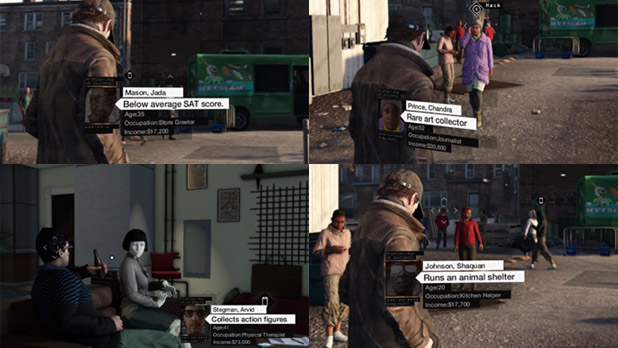 Watch Dogs City Hotspots Showing