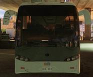 Coach bus front