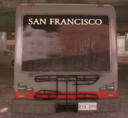 City bus front