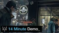 Watch Dogs - 14 Minute Gameplay Demo