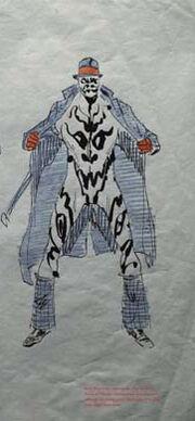 Inkblot rough sketch