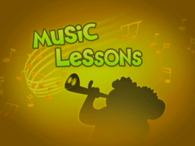 Music Lessons Title Card
