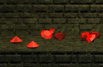 Red gems